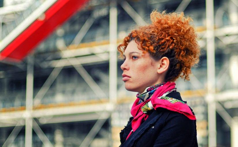 Kobieta z okolic Pompidou